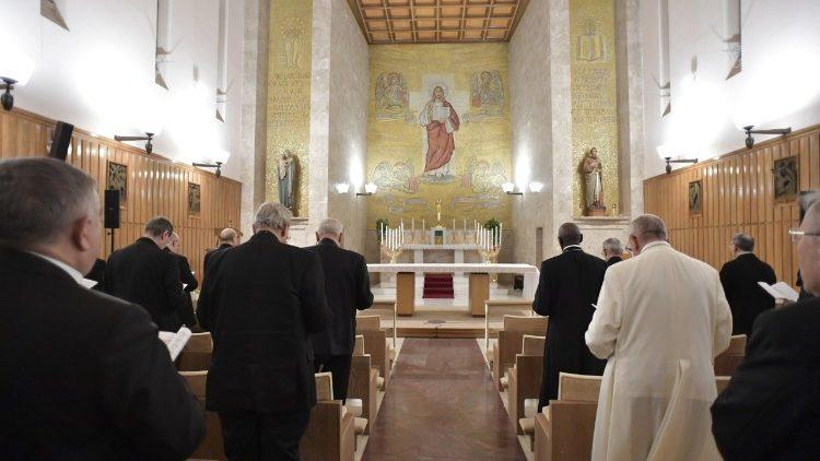 Udienza in Vaticano da parte di Papa Francesco